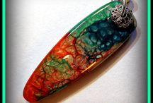 malovane šperky Prisma