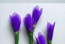 fiori con calze