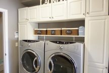 Laundry room organization  / How I organize my coupon stockpile in my laundry room.