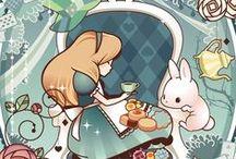 Papel de Parede para Celular Alice no País das Maravilhas