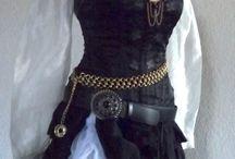 Pirat kostyme, Silke