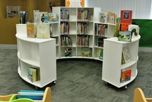 Library furniture / Library furniture that stimulates the imagination and creativity.