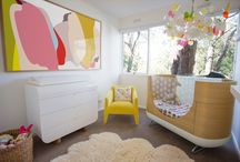 Nursery Inspirations / Baby rooms with a difference (Note: The rooms featured on this board have not been created by Twinkle and Whistle, but we love them deeply)