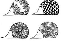 Hérisson - dessins images