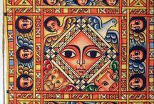 sweet icons / tattoo inspiration. Beautiful Ethiopian icons