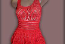 rojo vestido