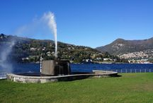 Villa Geno / The end of Viale Geno, on a promontory with a recognizable fountain. In fondo a viale Geno, su un promontorio con una riconoscibile fontana. @COMO