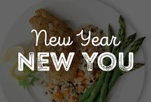 New Year, New You / Start the New Year off right by stocking up on delicious, healthy food choices and recipes. / by Schwan's Home Service