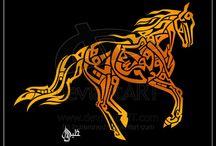 Arabic calligraphy / by Lola Bennion