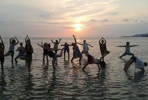 Yoga Vacation at Gili Air / Enjoy yoga vacation in the lap of nature with H2O Yoga & Meditation Center where you feel the nature and peace in and around you.