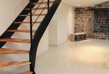 Escalier -rénovation ferme