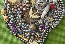 Mosaic hearts