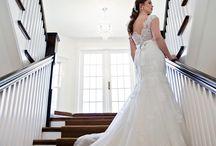 Wedding Dresses / www.emmalinebridal.com  wedding dresses, bridal gowns, low backs, lace, white, fashion