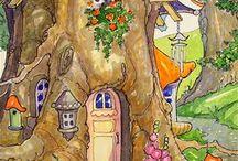 Cottage Da Libro Di Fiabe