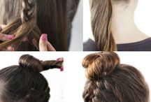Hairstyle, nail-art & make-up