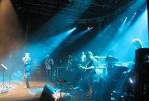 Sul palco con gli Stadio