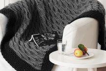Gehaakte dekens / Crochet blanket, afghan