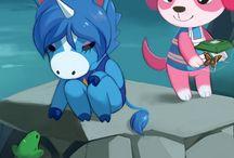 ACNL / Animal Crossing New Leaf Fan Art