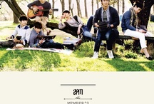 """[MUSICS] 2PM ✾ BEST ALBUM """"2PM MEMBER'S SELCTION"""". / The members of 2PM who have grown up as a performance boy band have personally chosen songs that be included in their latest album [2PM Member's Selection] Best Album of 2PM, which will give you the feeling and character of 2PM. There are a total of 16 selected favorite songs as well as the song that Junsu composed himself,  'Alive.' Wooyoung's and Junho's song 'Move on' is a special track as well.  / by iHeart ♥ KPOP"""