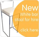 Bar Stools FOR HIRE