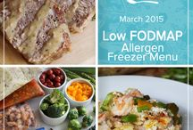 Allergen: Low FODMAP March 2015 Menu / Leave worrisome discomfort behind and savor flavors of comfort for breakfast, lunch and dinner with this Low FODMAP March 2015 Menu. Banana bread oatmeal, maple glazed meatloaf and chicken chop suey are just a few inviting options waiting to fill your freezer. / by Once A Month Meals