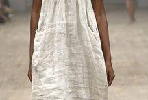 bohemian dress style / bohém ruhák