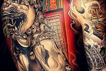 foo dog tatto
