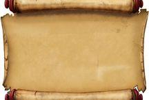 pečet,pergamen svitek