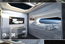 Space ship/room