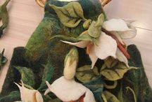 felting -obiecte de lana impaslita / posete,bijuterii,saluri si alte obiecte frumoase obtinute prin impaslirea lanii