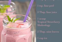 Shakeology / Recipes, tips and tricks for consuming your healthiest meal of the day! / by Marissa Sweazy