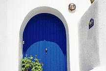 Santorini Colors and Architecture