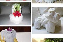 Ting laga av håndklær og kluter