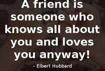 Freundschaftssprüche / Hier findest du die besten Freundschaftssprüche!