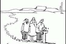 Jokes and cartoons