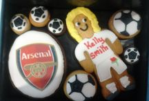 Celebrity Cookies / We are delighted to be asked to provide cookie gifts for the guests of Clare Balding on her TV sports show. We have also provided cookies for other TV personalities
