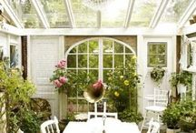 Outdoor Spaces / by Jules On Water