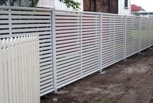 Fencing & Gates / We have an extensive range of fencing & gates, including aluminium slatting, louvres, FastFence®, Barbarian® high security fencing,  COLORBOND steel & aluminium® Clik 'N' Fit DIY Fencing, gates, balustrades, arches, block fence infills & more.