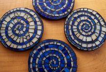 Mosaics coasters