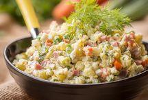 Russian potatoe salad