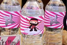Pink girly ninja