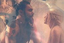 Le Trone De Fer - Khal Drogo & Daenerys Targaryen _3