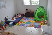 Decoración de habitación de bebés
