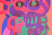 Gráfica, firmas, abstracto