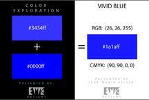 Explore Color:  Shades of Blue / by Eva Maria Keiser Designs