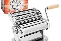 Double Pasta Cutter Maker Machine Stainless Steel Kitchen Lasagne Craft Spaghett