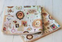 Текстильные салфетки l Textile cloth / Красивые салфетки l Beautiful napkins