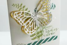 Cards SU Butterfly Thinlets / by Debbie Peters