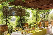 Ulkona vai sisällä / Katettu ulkotila, patio, viherhuone, kesähuone, veranta...