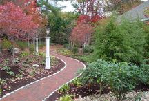 Colonial Landscape Design / Inspiration and ideas for Colonial- or traditional-style landscape design. Go to http://www.landscapingnetwork.com/garden-styles/Colonial-Landscape-Design.pdf for a printable, hi-res inspiration guide to this style.